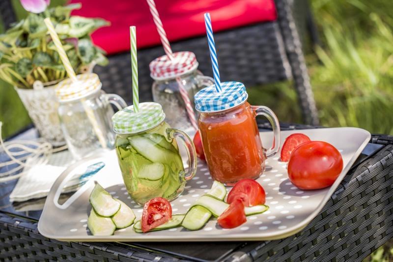 Naczynia szklane na wiosenne przysmaki