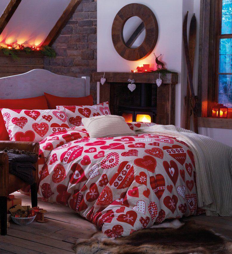 Nordycki design, krata i renifery, czyli sypialnia rodem ze Skandynawii