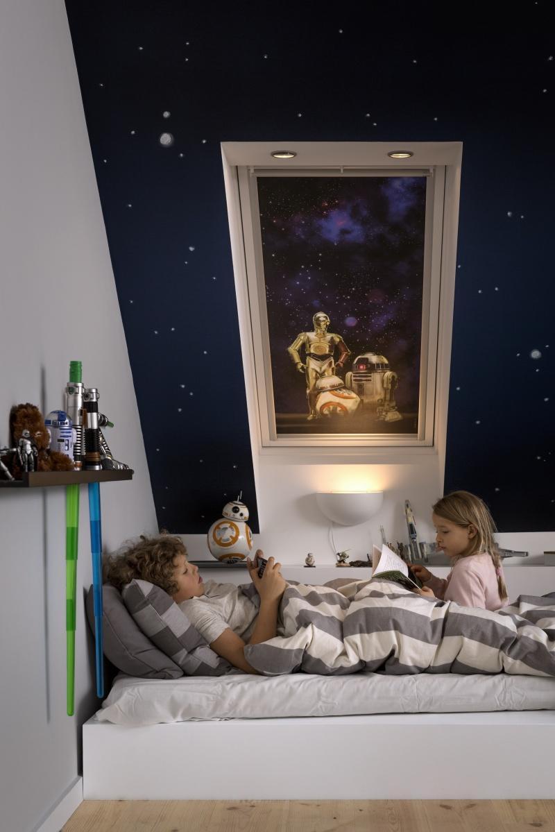 Nowa kolekcja rolet Star Wars & VELUX Imperium Snu