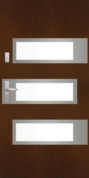Galaktyczny design – drzwi zewnętrzne SATURN firmy POL-SKONE