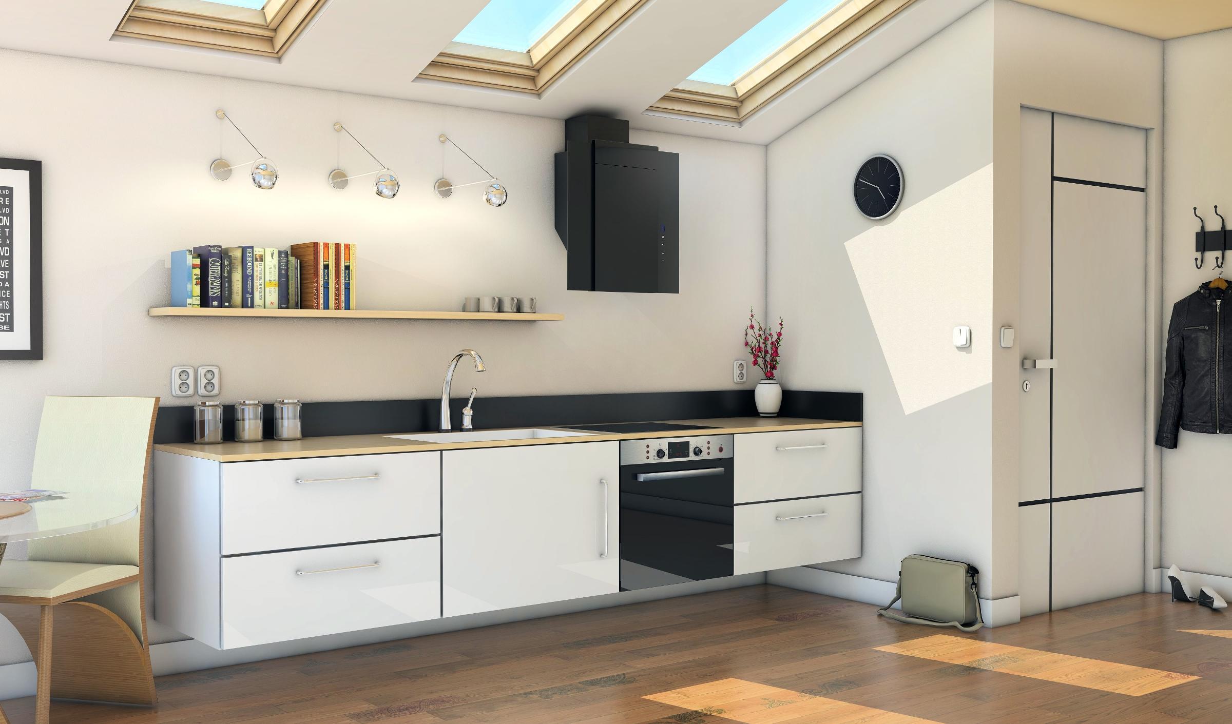 Okap kuchenny Numia Ciarko Design
