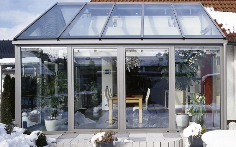 Od fasady, przez okno po ogród zimowy. Wykorzystanie szkła SGG BIOCLEAN+