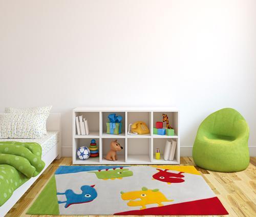 Odmień pokój dziecka dywanem