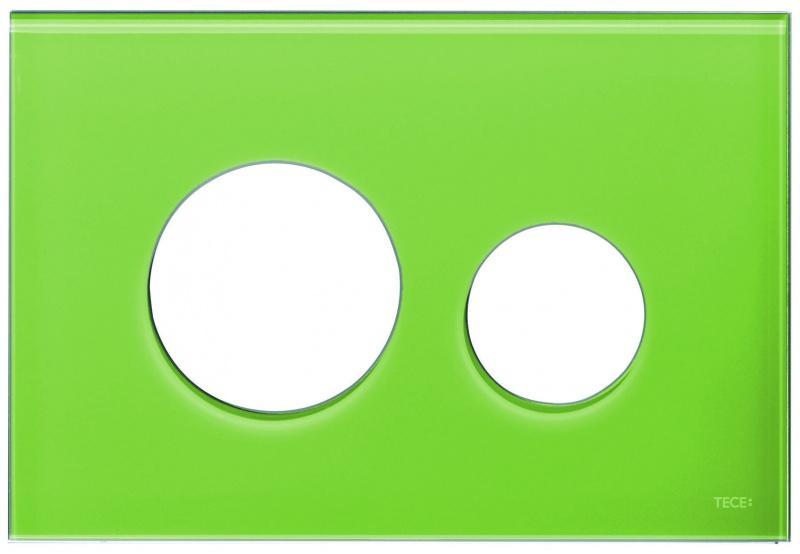 Odważny detal w łazience – kolorowe przyciski TECEloop
