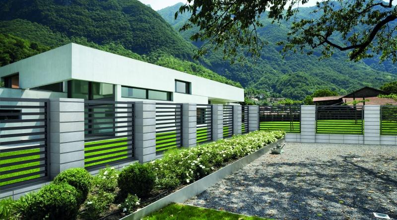 Ogrodzenia betonowe – trwałość i design w jednym