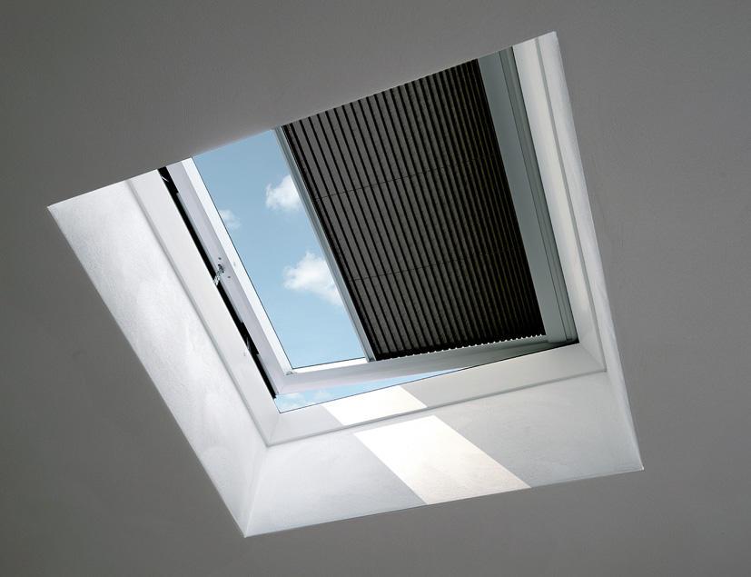 Okna do płaskiego dachu