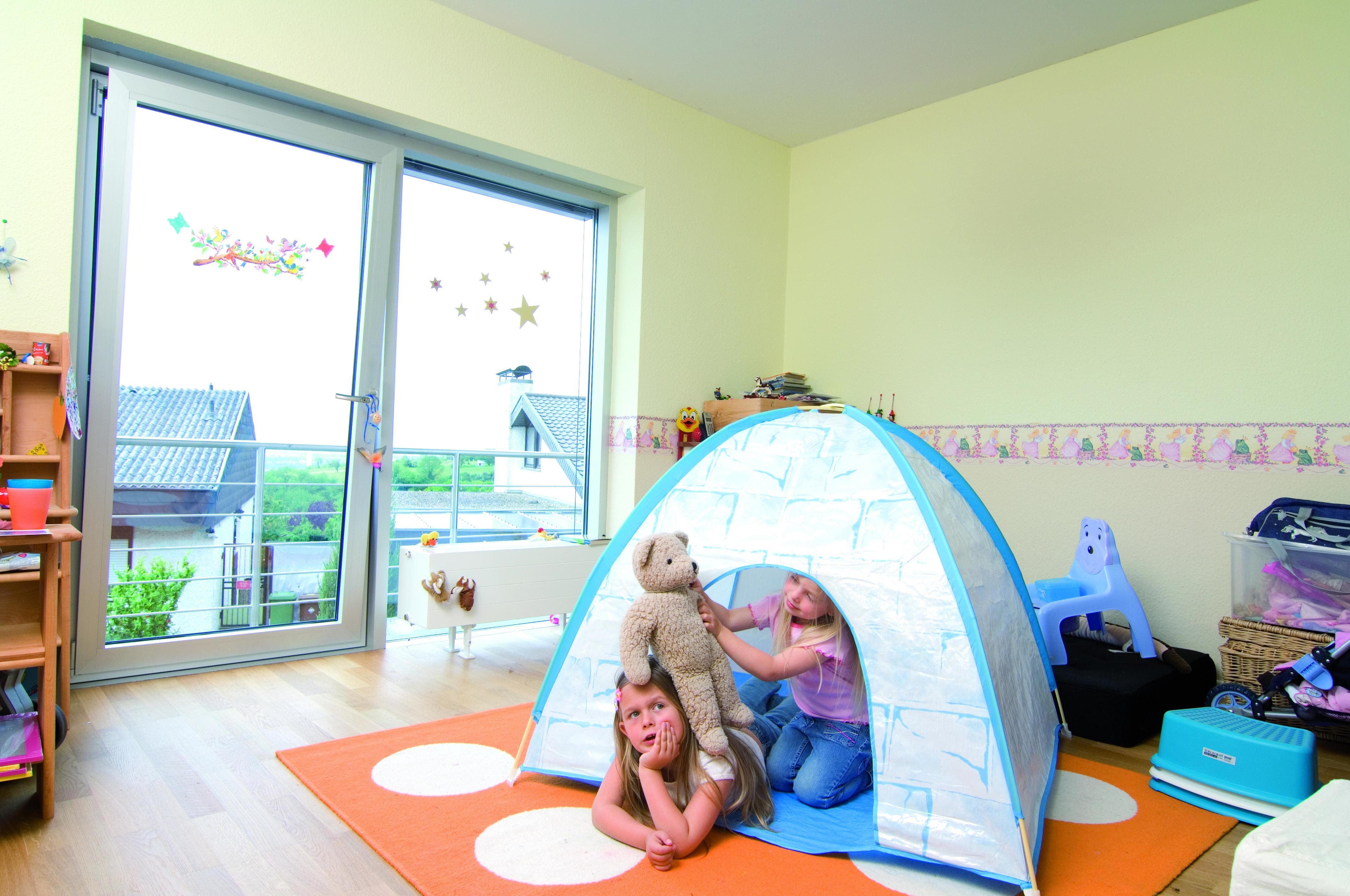 Okno do pokoju dziecka