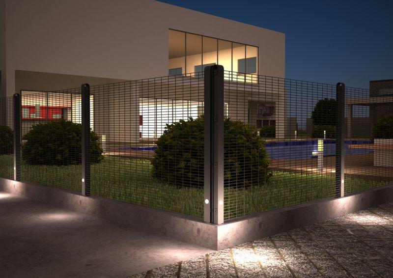 Patent Betafence na świecące ogrodzenie