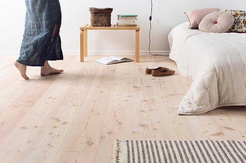 Podłoga drewniana w pełni bezpieczna dla astmatyków i alergików