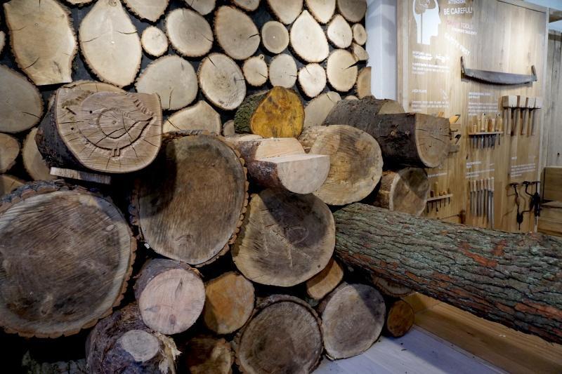 """Podsumowane interaktywnej wystawy - """"Stolarnia Zmysłów/Sensorial Carpentry"""""""