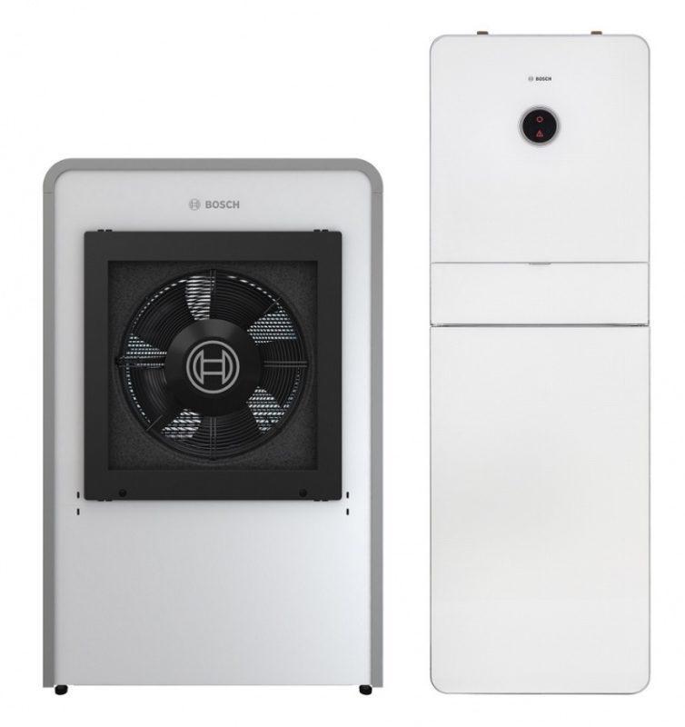 Powietrzna pompa ciepła Bosch Compress 7000i AW: wysoka efektywność, przełomowy design