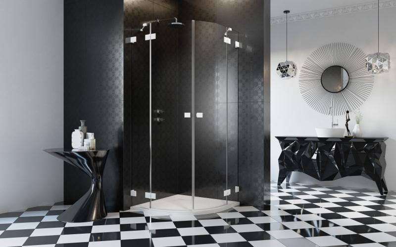Powrót do korzeni, czyli białe kabiny prysznicowe wracają