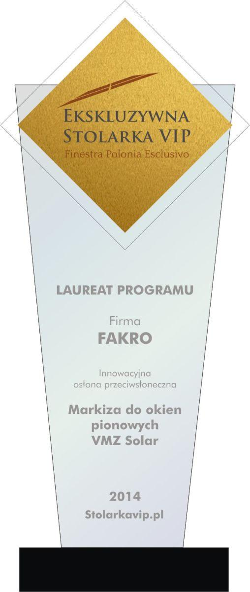 Produkty FAKRO nagrodzone w ramach programu Ekskluzywna Stolarka VIP