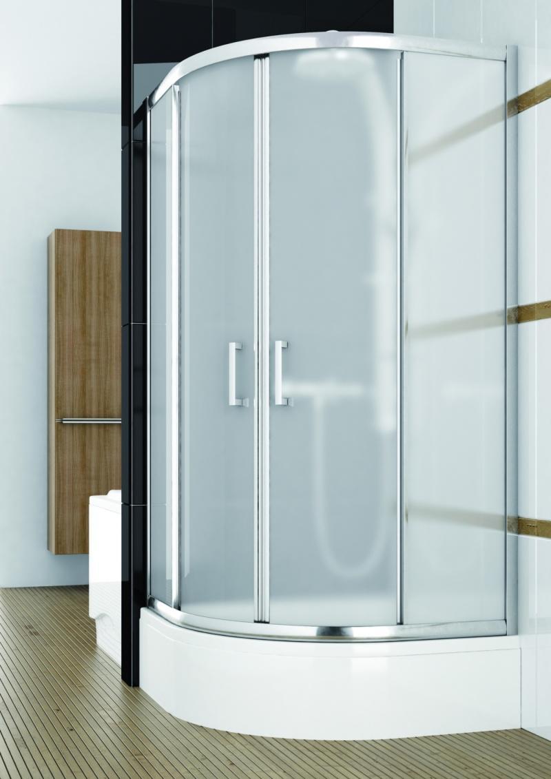 Różne rodzaje wypełnień w kabinach prysznicowych