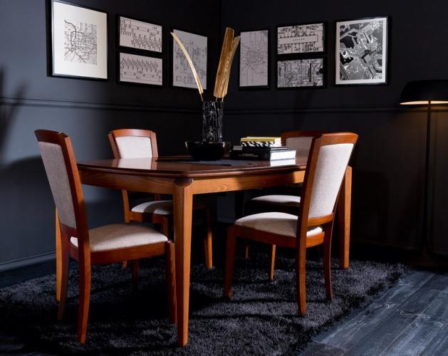 Stoły i krzesła od Black Red White