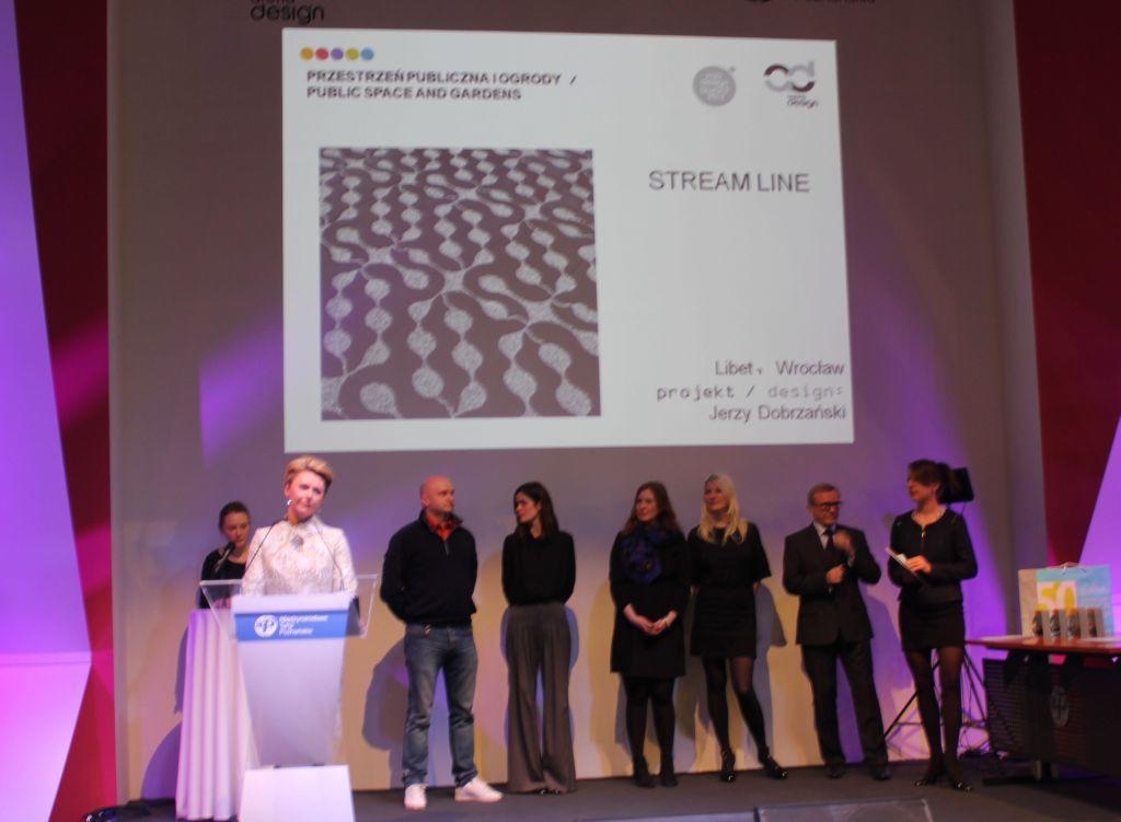 Top Design Award 2013 dla Stream Line