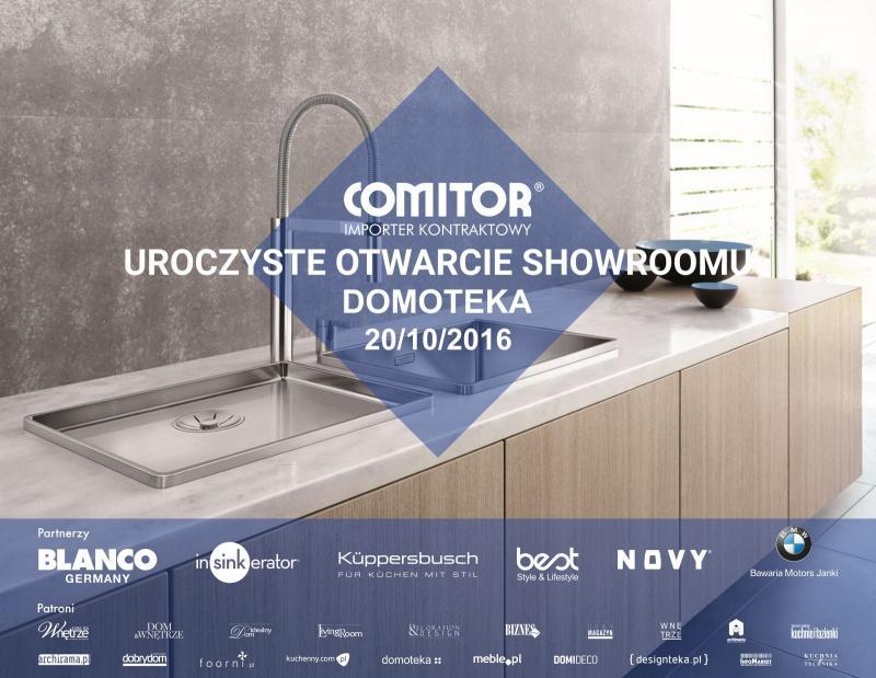 Uroczyste otwarcie nowego showroomu COMITOR w Domotece
