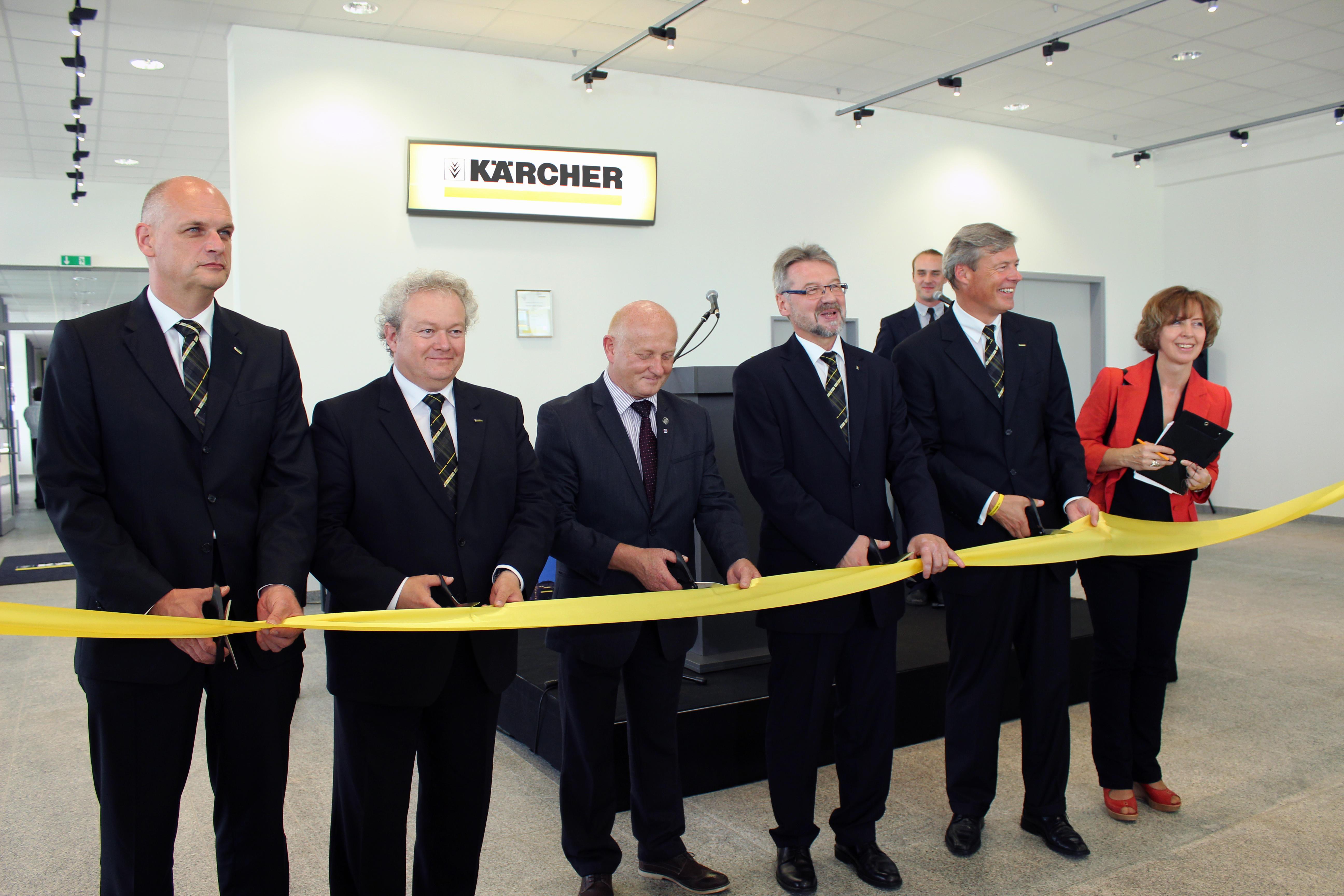 Uroczyste otwarcie nowej siedziby Kärcher w Krakowie