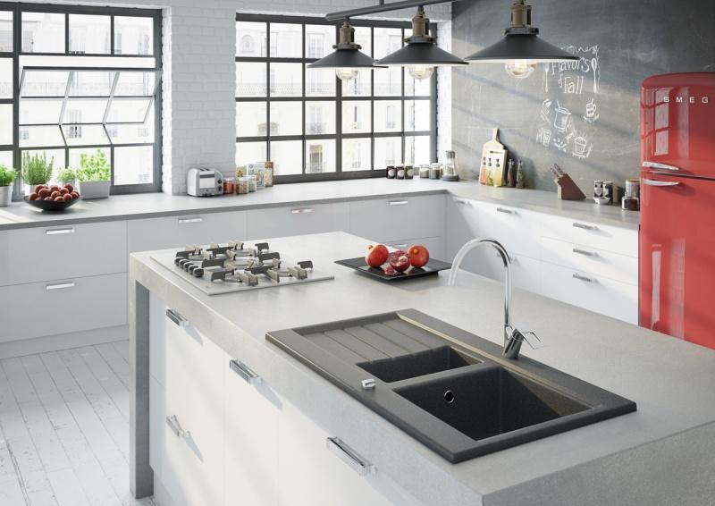 W nowoczesnej kuchni