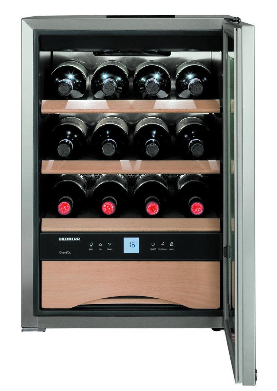 Winiarka i humidor marki Liebherr –  prezenty dla koneserów