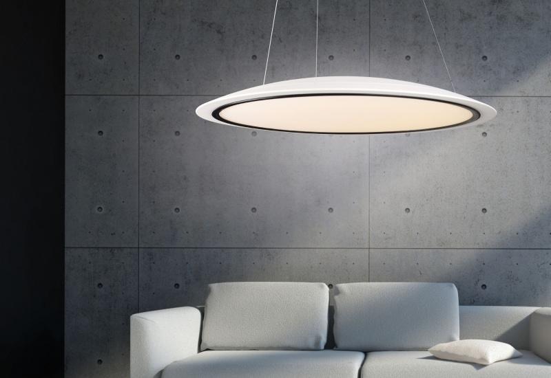Wnętrze stylowe i oświetlone