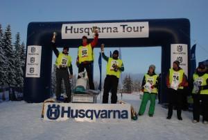 Husqvarna Tour - Jiri Junior Trnka, Igor Tracz iŁukasz Paczyński napodium