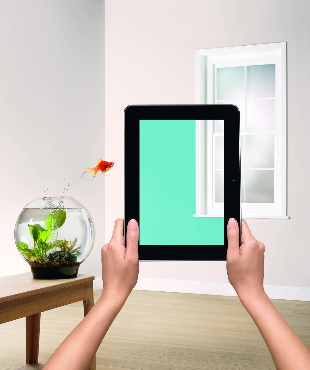 """Zwizualizuj kolor w swoim wnętrzu z nową aplikacją """"Visualizer"""" od marki Dulux"""